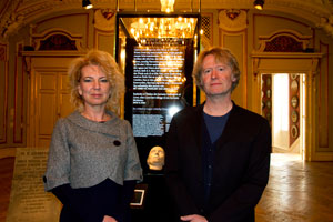 Pia Søltoft and Joakim Garff at the Museum of Copenhagen