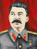 Illustration of Stalin