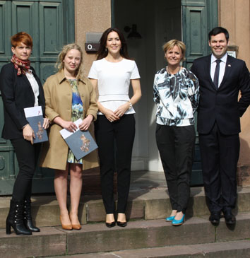 Australian students awarded by the Crown Princess