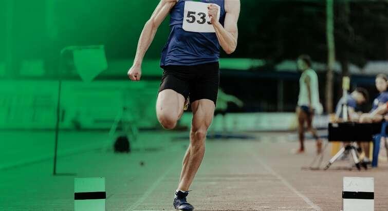Photo of a long jumper
